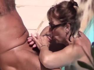 Two amazing nudist voyeur chicks on a nudist beach voyeur video