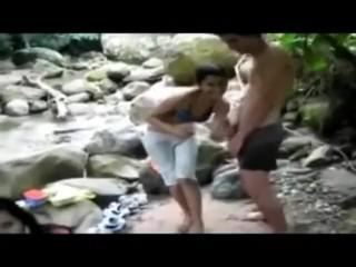 A voracious voyeur loves making videos on the nude beach