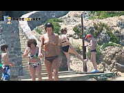 Naked Teen Nudist Lets The Water Kiss Her Hot Body