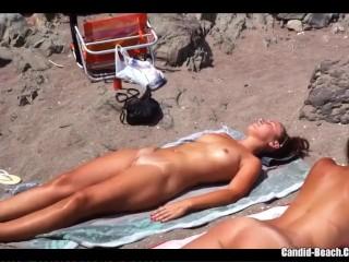 Nude Milfs Beach Voyeur Video