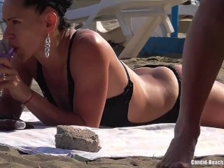 Amateur Super Hot Milfs Naked At The beach Spycam Voyeur